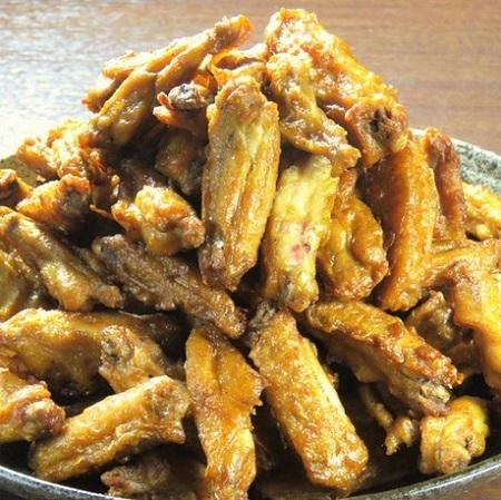 蕨の鶏料理専門店[とりいちず]の絶品手羽唐