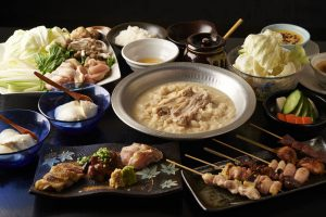 とりいちず食堂 蕨駅前店の鶏料理が満喫できるコース
